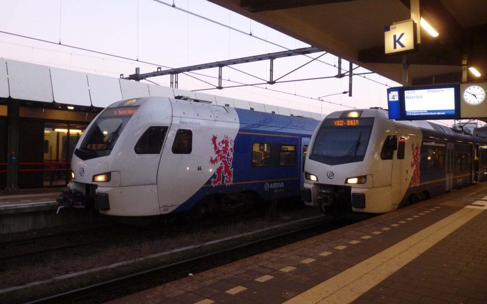 Maastricht_Arriva_treinen_2016